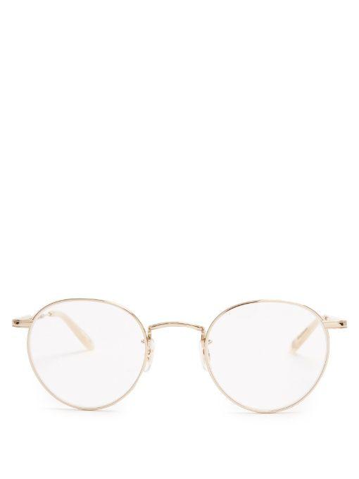 23fa6dbc24 GARRETT LEIGHT Wilson Round-Frame Glasses.  garrettleight  glasses ...