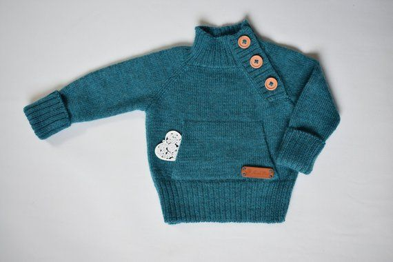 034ce5475d6e WOOL ALPACA knitted sweater for kid warm pullover jumper cardigan ...