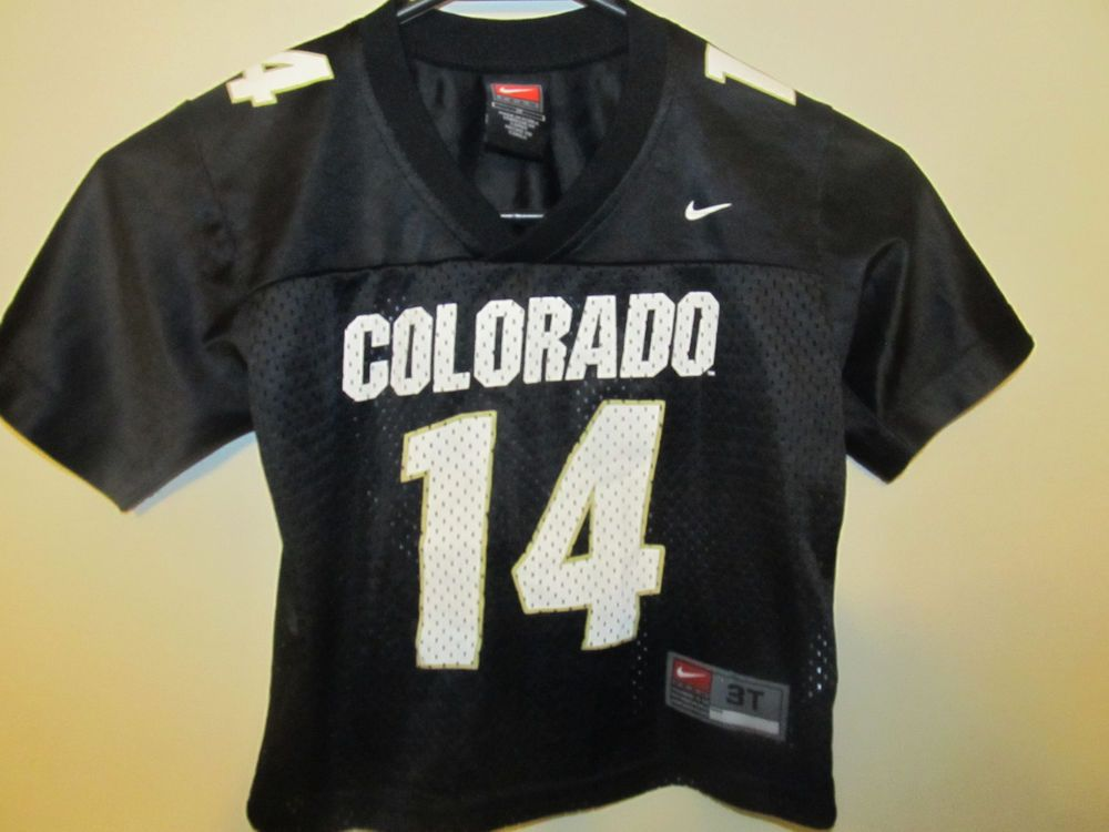 detailed pictures add22 a34a9 Details about Colorado Buffaloes #44 Black Football Sports ...