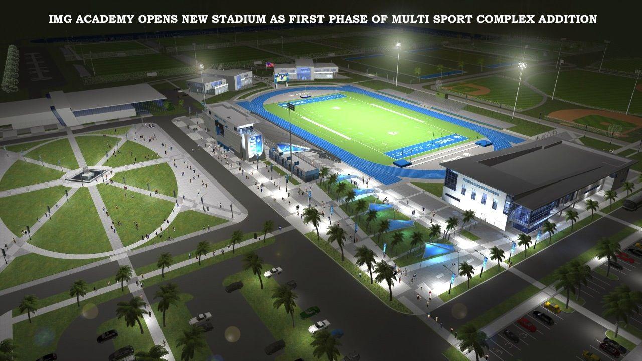 IMG Academy new Football Stadium New football