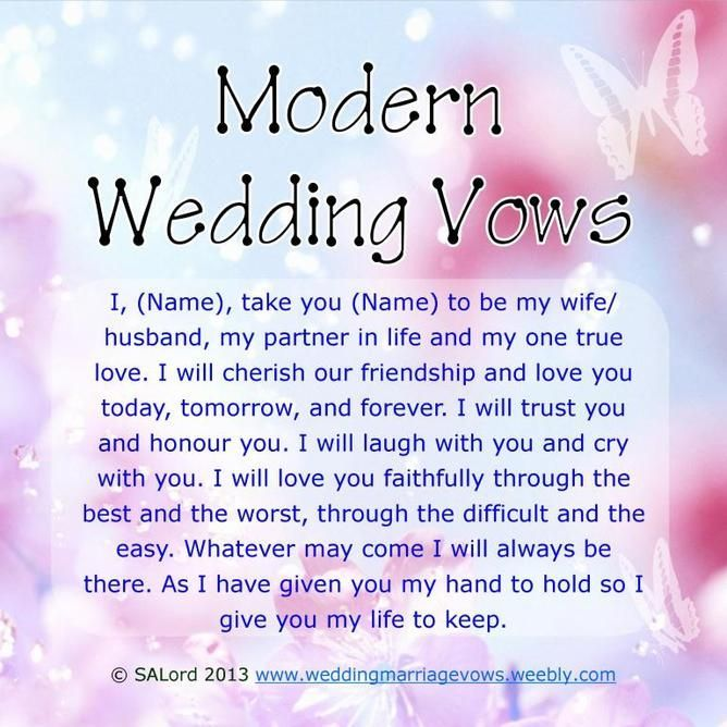 Modern wedding vows 11 best photos wedding vows stuck for wedding vow ideasjust as small assortment to help you on the way junglespirit Choice Image