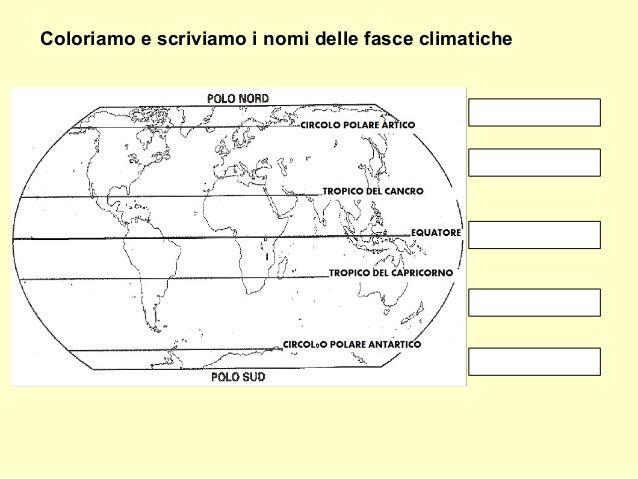 Italia Climatica Cartina.Roux Fetta Azione Cartina Muta Del Mondo Con Le Fasce Climatiche E Equatore Sul Punto Punto Presentatore