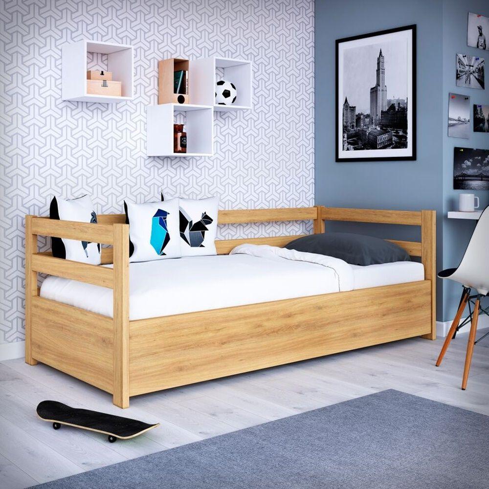 łóżko Drewniane Slim Z To Rozwiązanie Dla Wielu Pokoleń