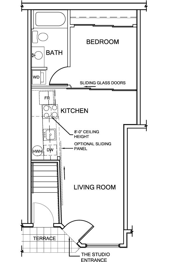 Railroad Apartment Layout Ideas 1 Bedroom Google Search
