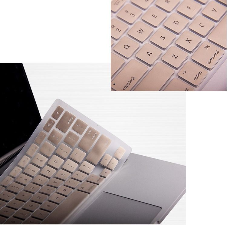 finest selection 077cb f45a0 Champagne Gold case Rubberized keyboard cover Macbook Pro Air Retina ...