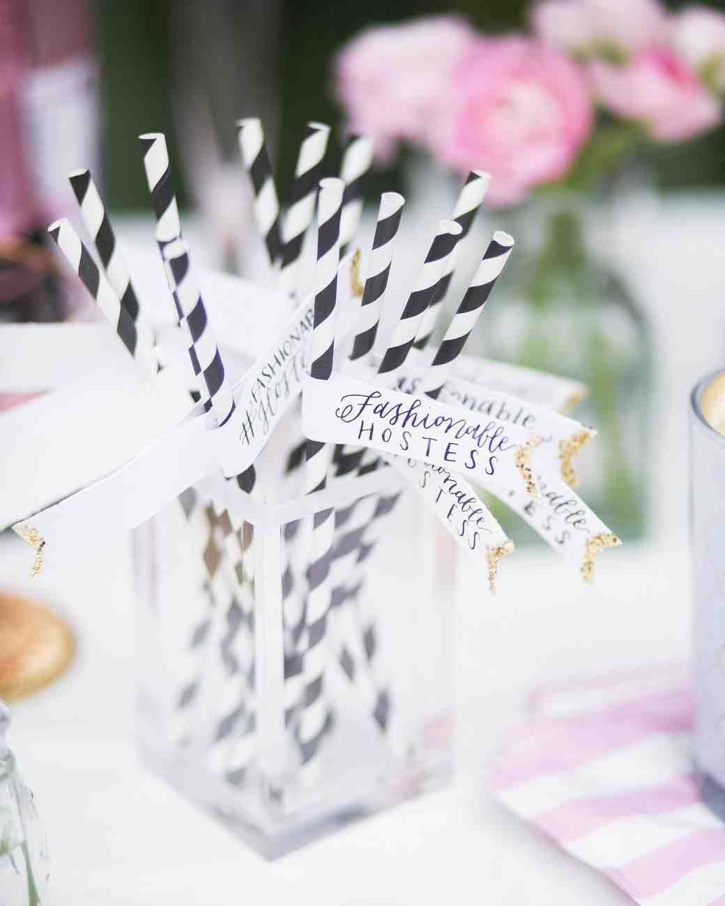 The Essential Elements of a Bridal Shower Dessert Bar   Martha ...
