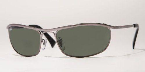 682bd9fc10 Ray Ban RB3119 Olympian Sunglasses-004 Gunmetal (G-15XLT Lens)-59mm