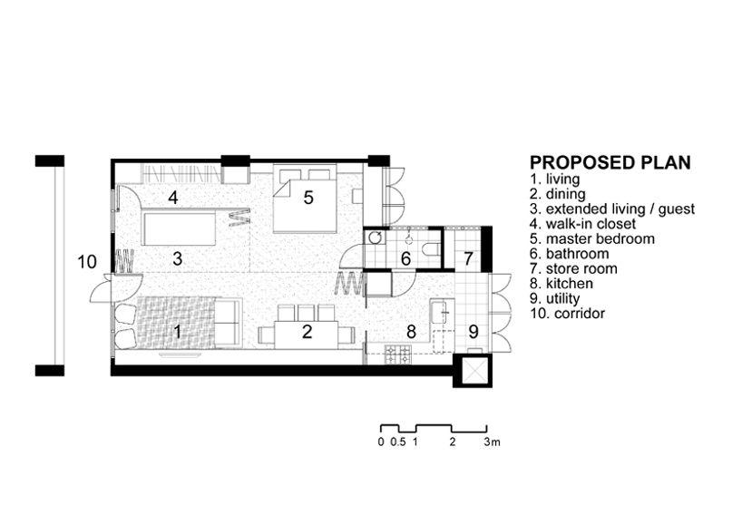 The Design Abode Flexible Apartment Studio Apartment Plan Design Apartment