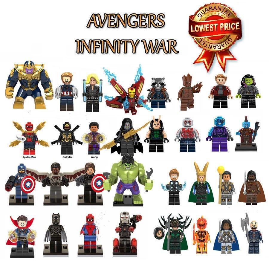 Avengers Marvel Lego Superhelden Iron Man Figur