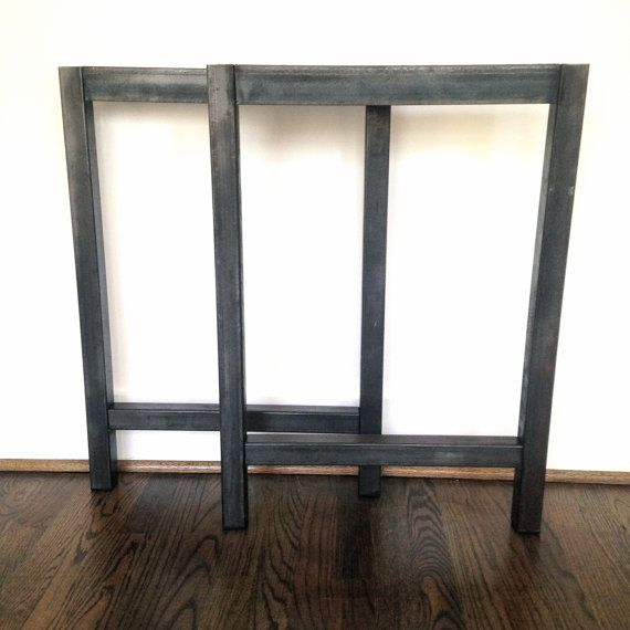 Steel Table Legs - 1.5'' Square H Shape - Ships FAST ...