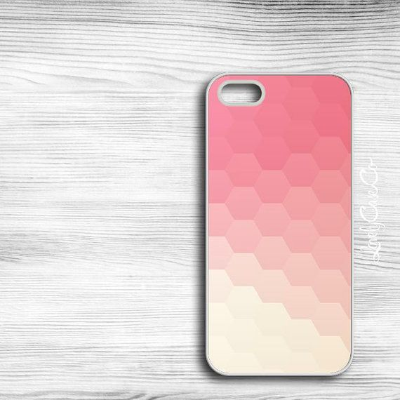 Abstract Hexagon iPhone 5s Case / iPhone 5 Case / by LovelyCaseCo, $18.00