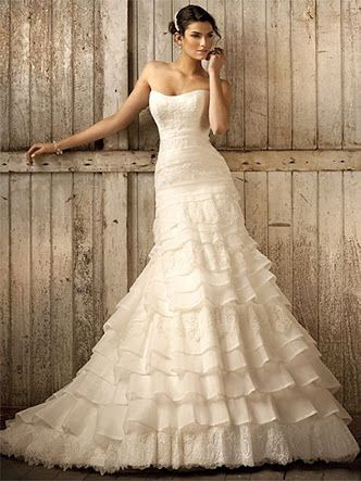 Spanish Ruffles Online Wedding Dress Wedding Dresses Essense