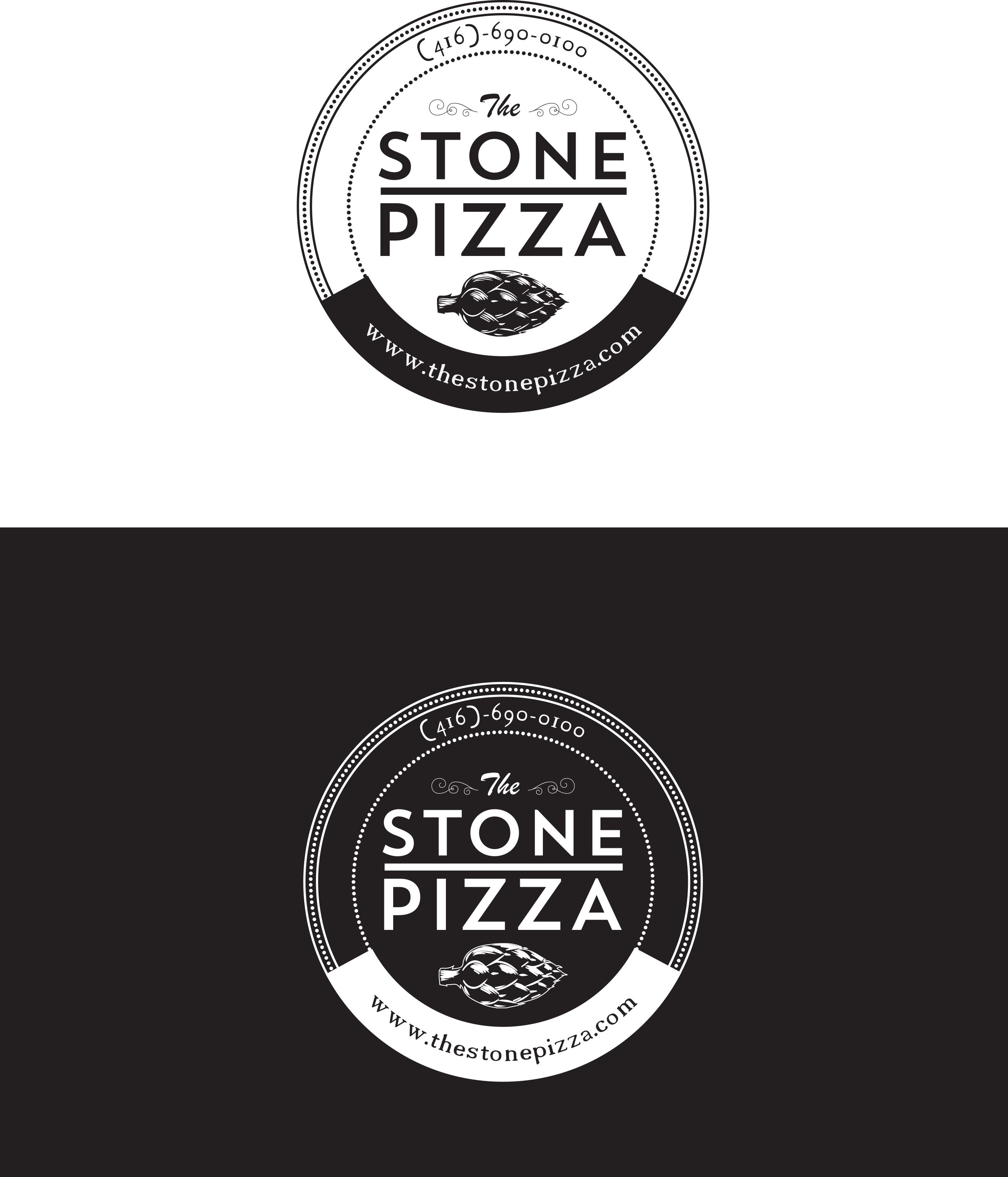 Logo design for thestonepizza.com.