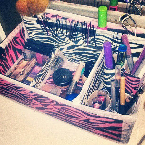 Makeup Drawer Organizer Diy