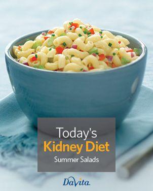 Todays kidney diet summer salads renal diet foods pinterest food forumfinder Image collections