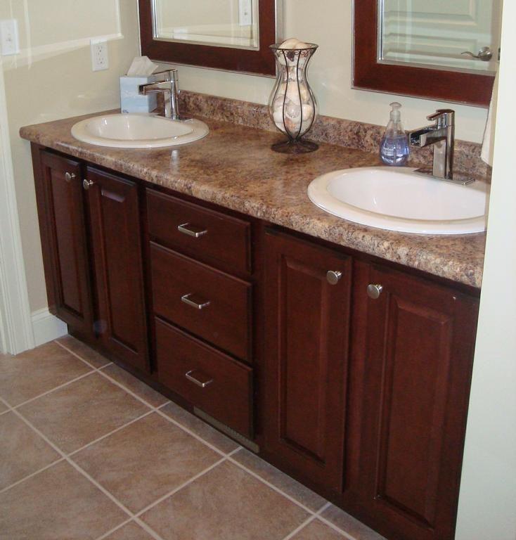 Merrilat Dusk Color Cabinets: Merillat Classic Seneca Ridge Sedona Butterum Granite