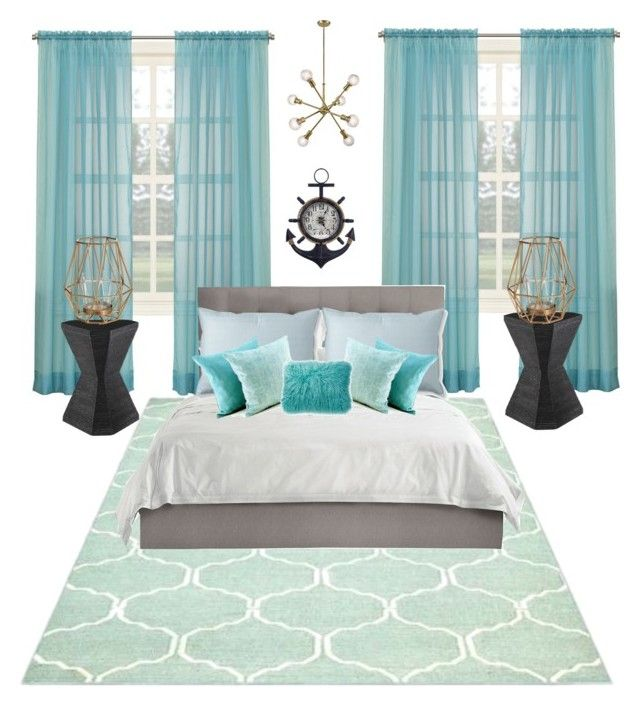 Ocean Vibe Room By Anchorheart12 On Polyvore Featuring Interior Interiors Design