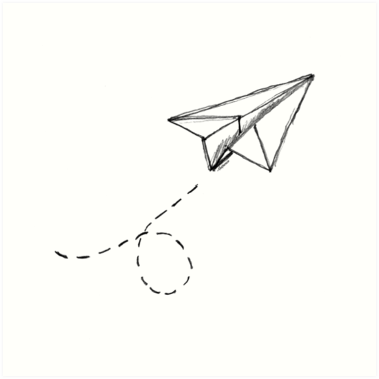 Paper Plane Heart Fly Paperplane Cute Love Iloveyou Freetoedit Paper Airplane Tattoos Flying Tattoo Paper Plane Tattoo