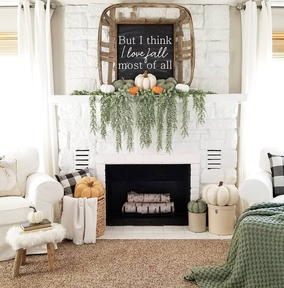 #fallmantledecor