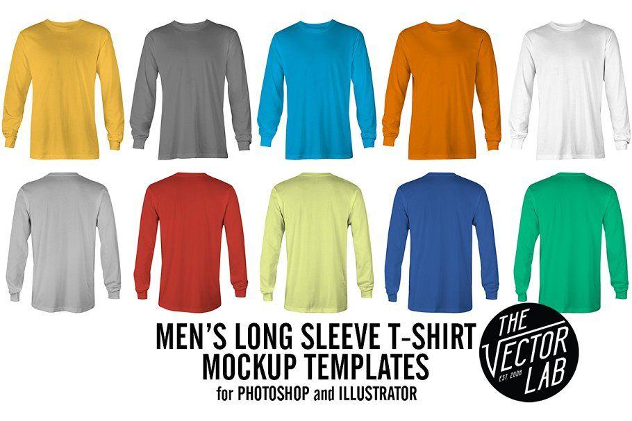 Download Long Sleeve T Shirt Mockup Templates Clothing Mockup Shirt Mockup Hoodie Mockup