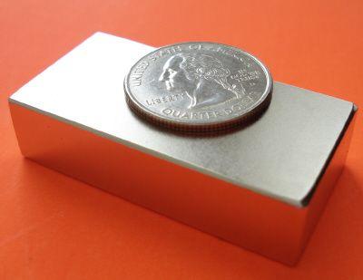 Neodymium Magnets N50 2 Inch X 1 Inch X 0 5 Inch Thick Neodymium Iron Boron Ndfeb Rare Earth Block Neodymium Magnets Rare Earth Magnets Wind Turbine Generator