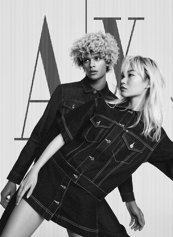 Simonas Pham & Jay Thor Model Armani Exchange Spri