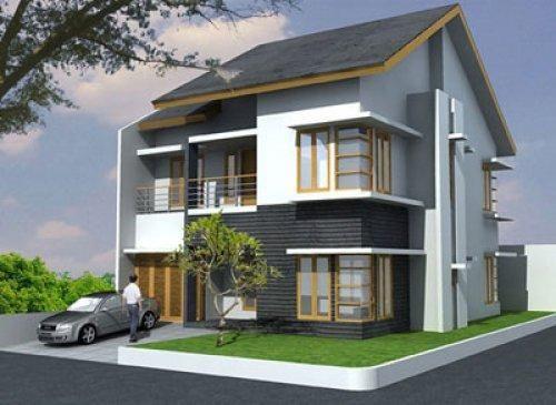 Contoh Gambar Desain Rumah Idaman Dengan Model Mewah Dan Minimalis Sederhana Yang Mempunyai Interior Denah