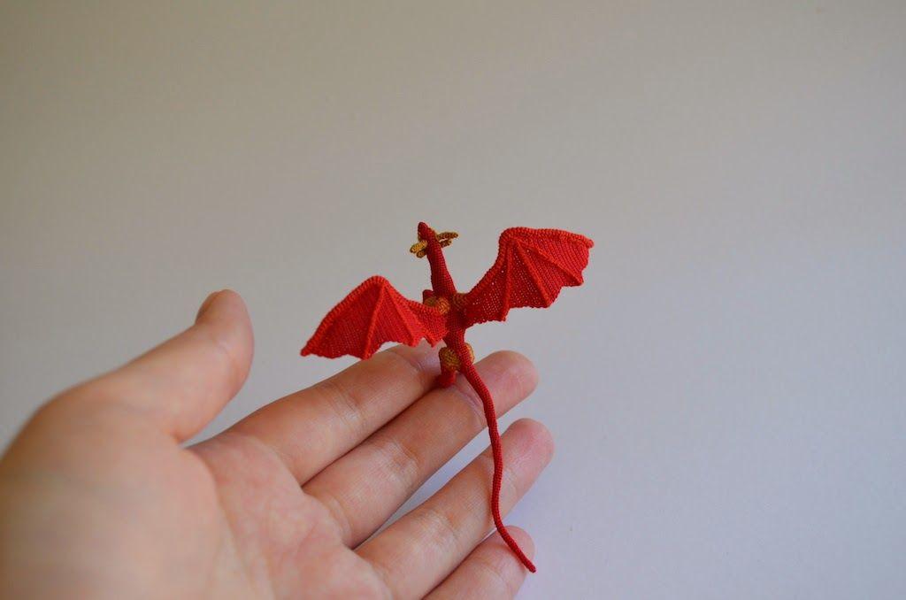 Micro Amigurumi Crochet Animals, Small Enough to Balance on Your ...