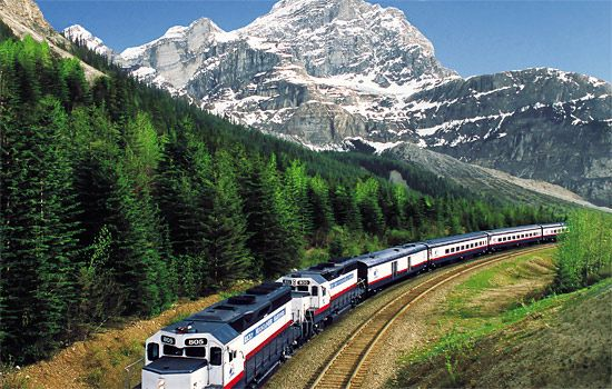 Rocky Mountaineer...luxury train ride though the Canadian Rockies!
