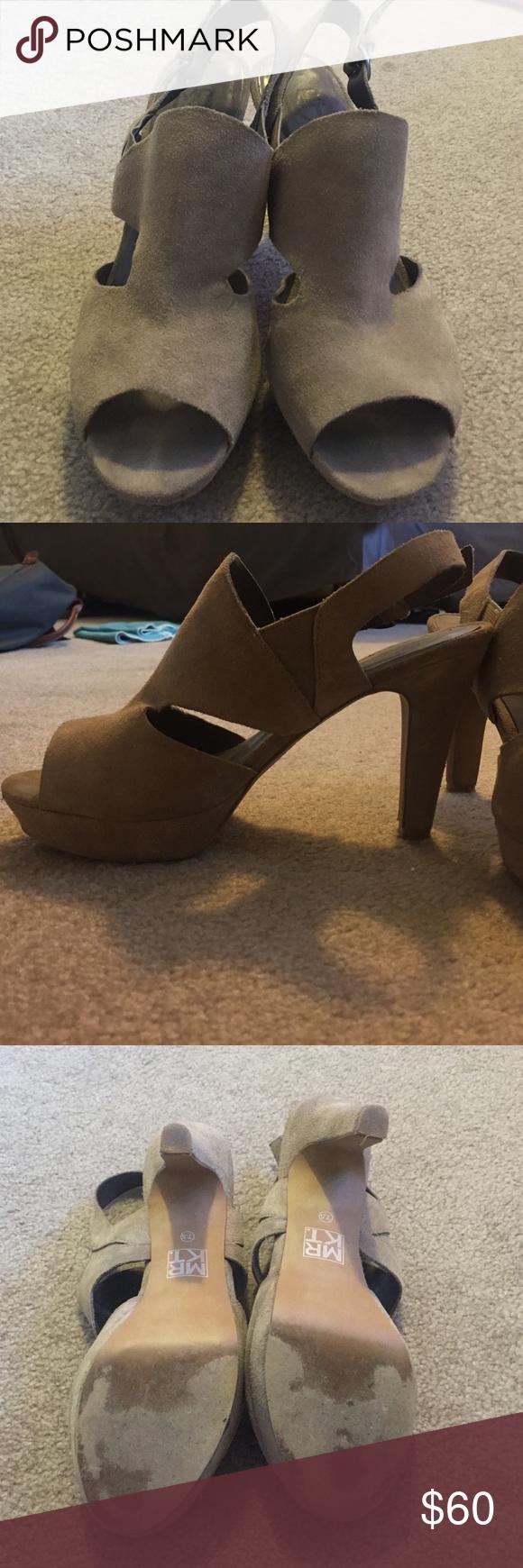 Mr. KT Beige Sandal Heels | Beige sandals heels, Beige