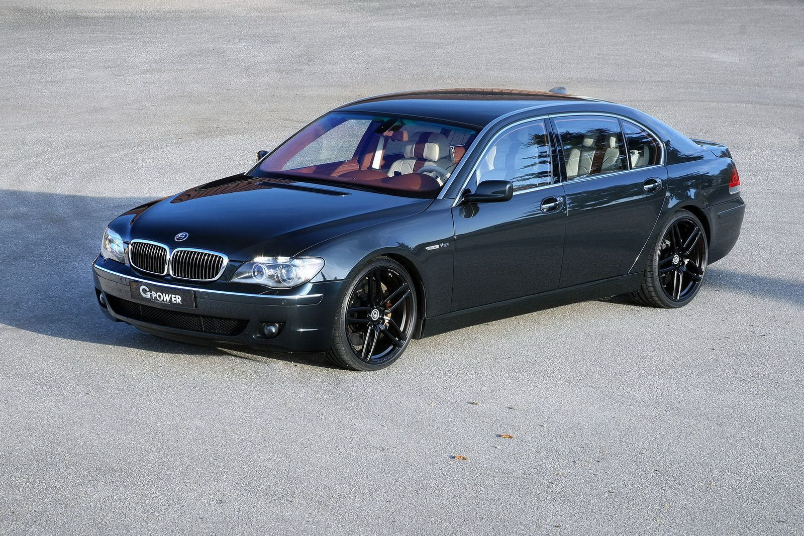 g power customizes bmw 7 series e65 39 s cabin bmw cars and car engine. Black Bedroom Furniture Sets. Home Design Ideas