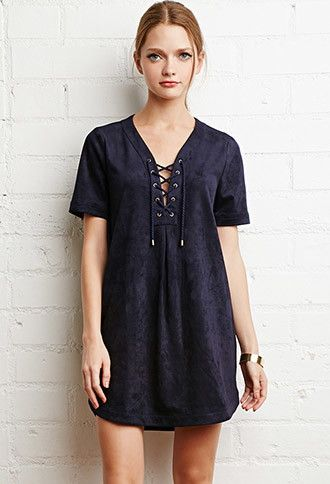 Lace Up Faux Suede Dress Faux Suede Dress Suede Dress Maxi Dress Outfit Fall
