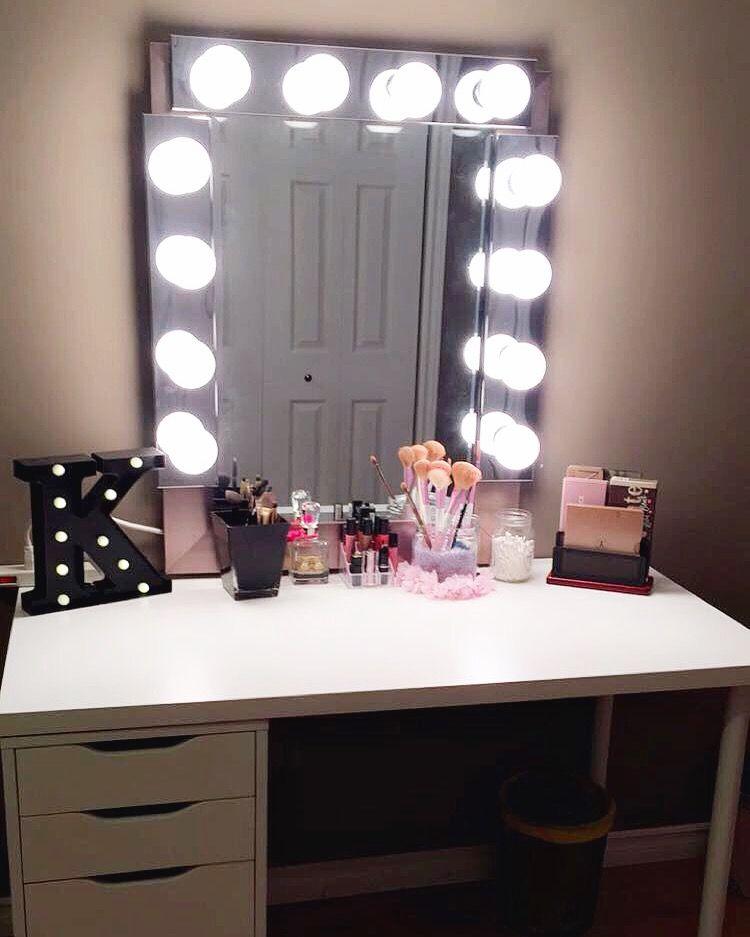 Diy hollywood style vanity mirror diy vanity vanities and diy hollywood style vanity mirror solutioingenieria Images