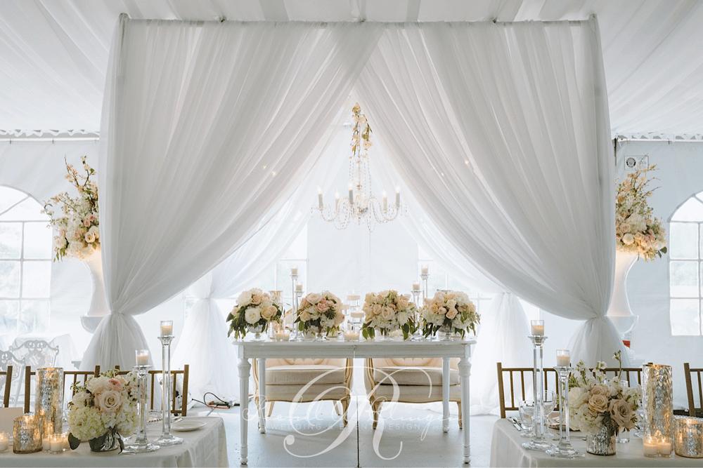 Head Tables Wedding Decor Toronto Rachel A Clingen Event Design