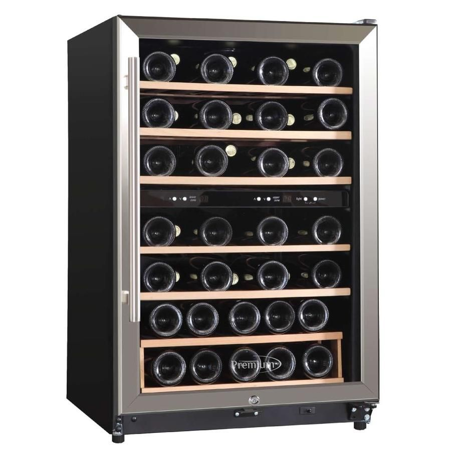 Wine Fridge Love The Simplicity And The Symmetry Also We Probably Only Need That Small Of A Wine Small Wine Fridge Wine Fridge Storage Built In Wine Cooler