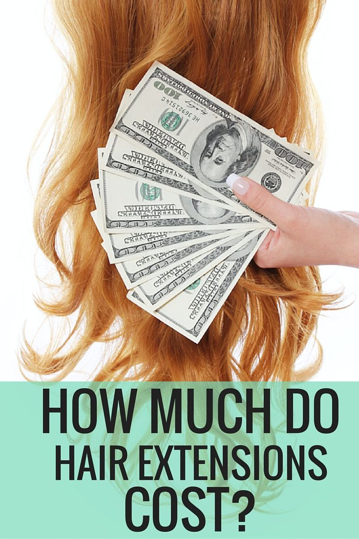 How Much Do Hair Extensions Cost Hair Education Pinterest