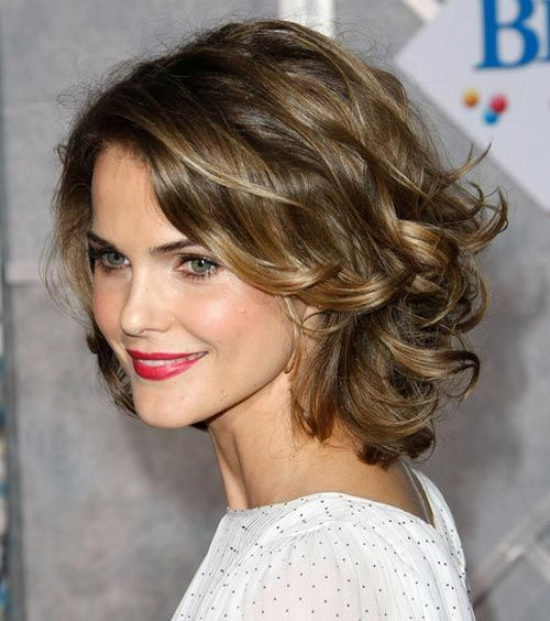 Long Hairstyles For Round Faces And Thick Wavy Hair
