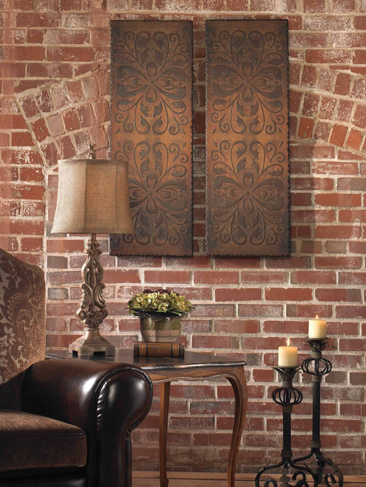 Decorative wall accessories todosobreelamorfo decorative wall accessories uttermost alexia wall panels set 2 13643 uttermost amipublicfo Gallery