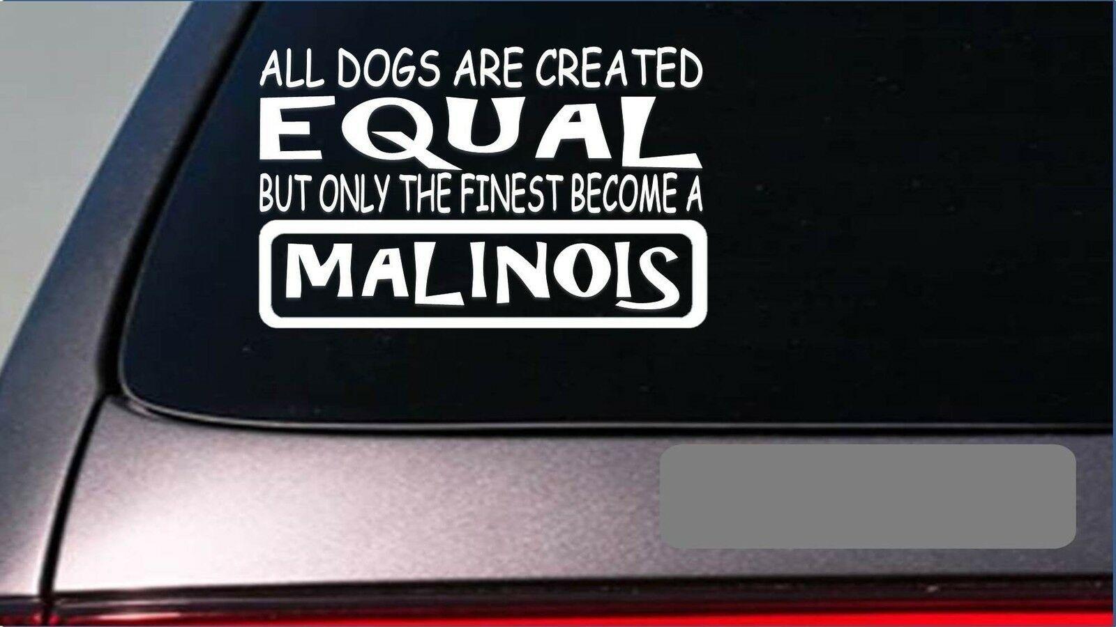 29+ Malinois equal Sticker G680 8