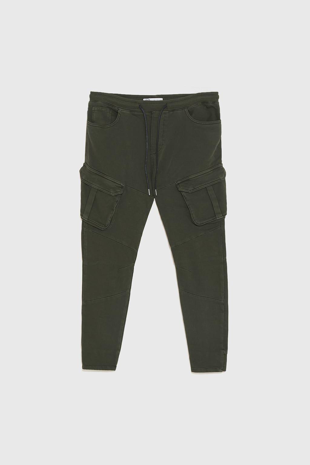 Pantalon Jogger Denim Soft Ver Todo Jeans Hombre Zara Peru Pantalon Jogger Pantalones Jogging