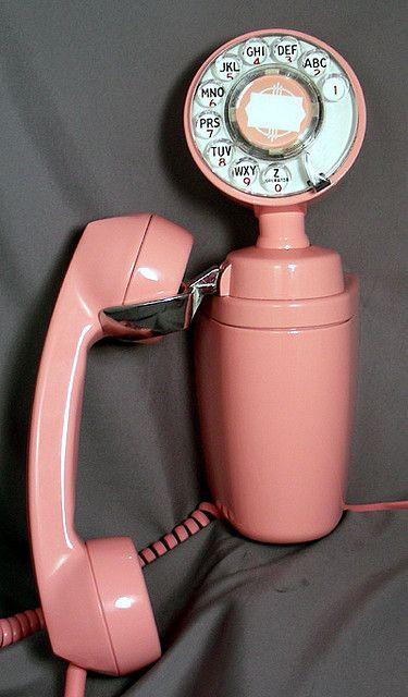 vintage wall phone by giselaandzoe, via Flickr