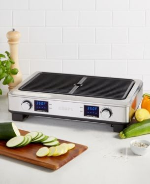 Krups Pg770d51 Smokeless Grill Outdoor Kitchen Design Small Kitchen Appliances Small Appliances