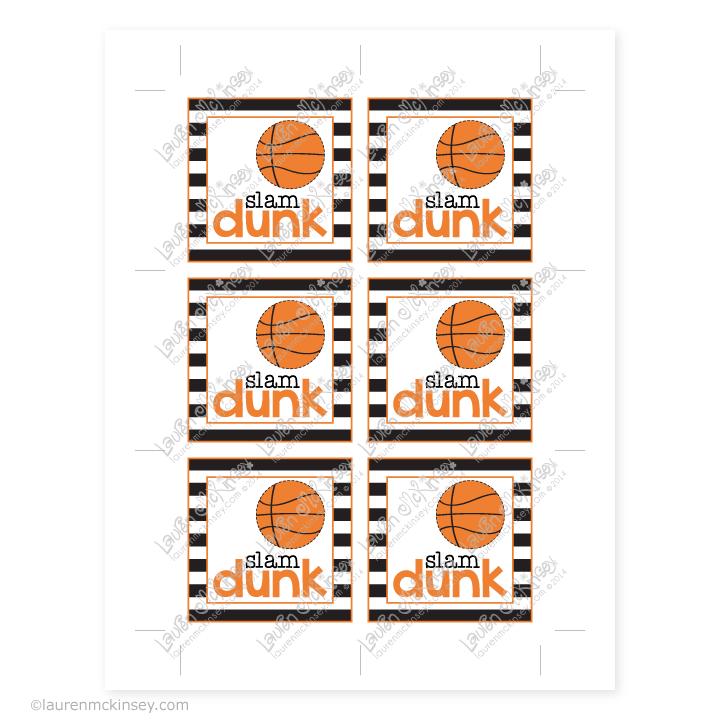 Gift Tags Celebrate Basketball Basketball Gifts Basketball Birthday Sports Banquet