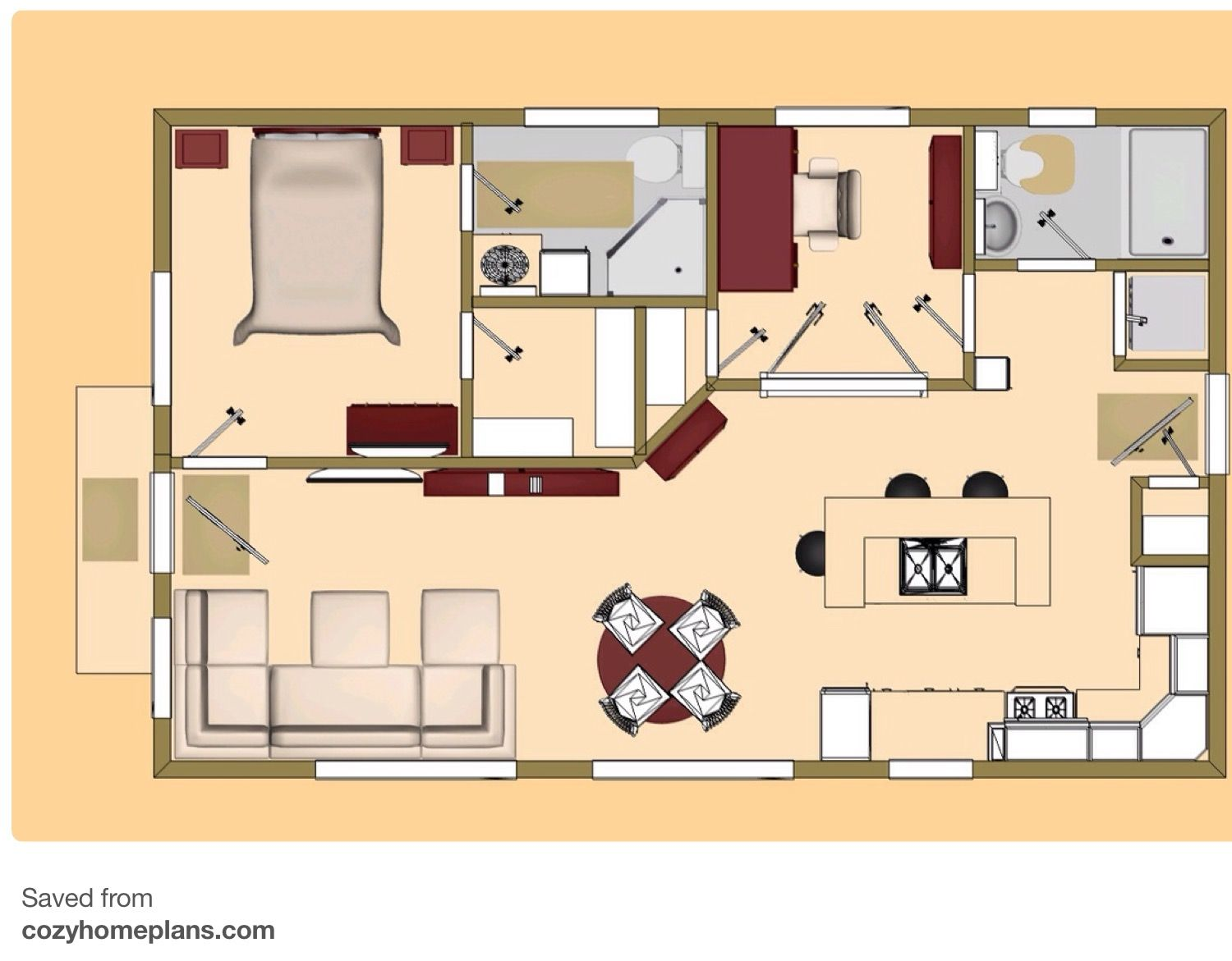 Pin By Deborah Points On Deb S Tiny House Small House Floor Plans Tiny House Floor Plans Tiny House Plans