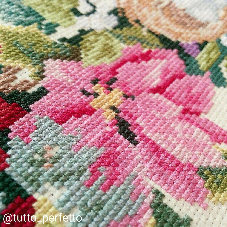 Dimensions wreath of all seasons my cross stitch pinterest