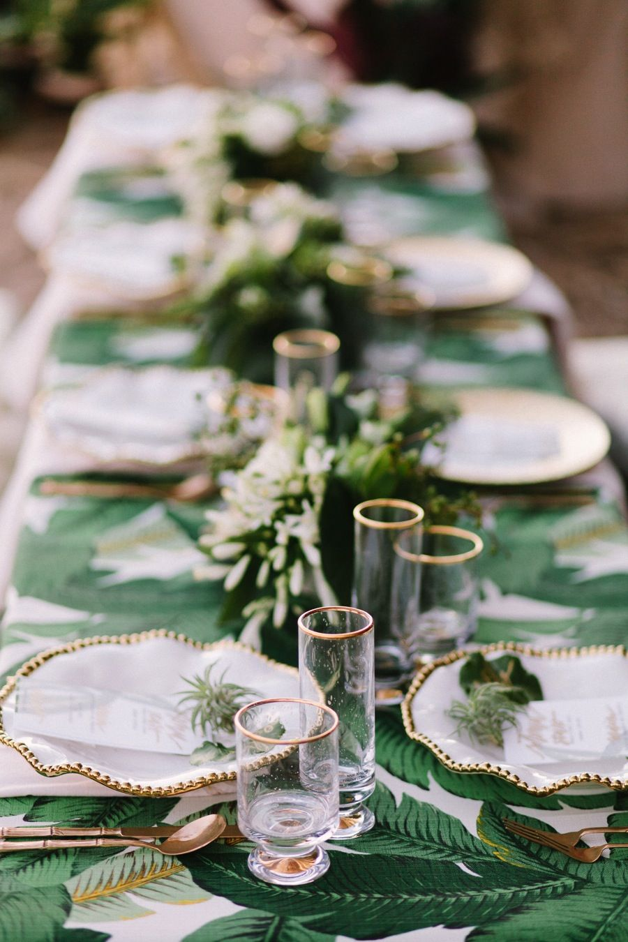 Banana Leaf Wedding Wedding Party Table Wedding Party Table