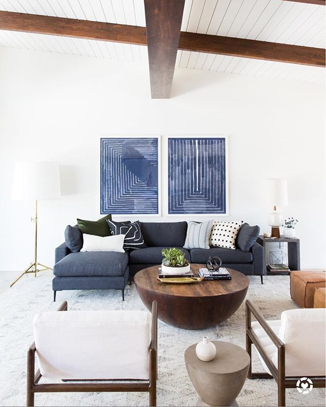 Mid-Century Modern Project Reveal | Floor lamp, Living rooms and ...