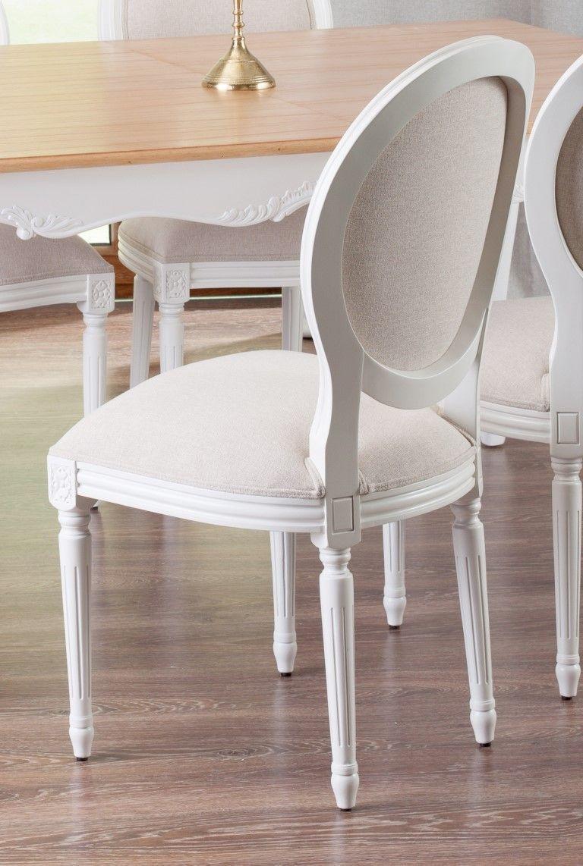 Polsterstuhl Amadeus white 50x58x90cm Jetzt bestellen unter