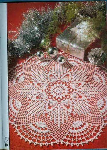 Crochet Knitting Handicraft: Centerpiece | doilies | Pinterest ...