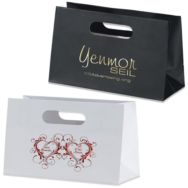 Promotional Mia Boutique Die Cut Shopper Paper Bag #33B106 #bags ...